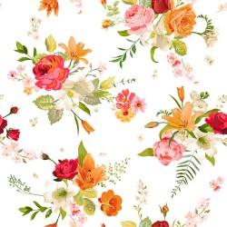 Papier peint Fleurs printanières