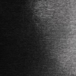 Adhésif Alu brossé noir charbon brillant
