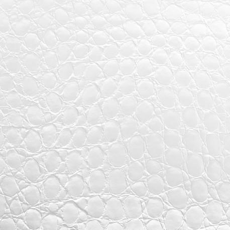 Adhésif Alligator blanc glacier brillant
