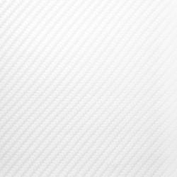 Adhésif Carbone blanc perle brillant