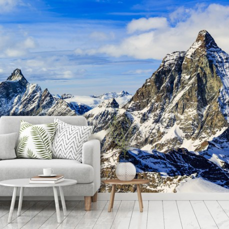 Papier peint Montagne majestueuse