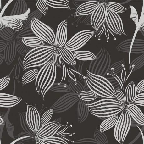 Papier peint Fleurs abstraites