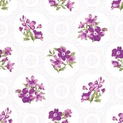 Papier peint Fleurs vintage