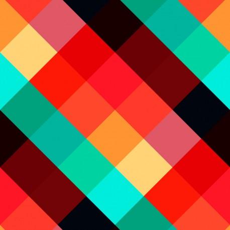 Papier Peint Colorful Squares