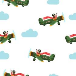 Papier peint Chiens aviateurs