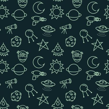 Papier peint Invasion spatiale