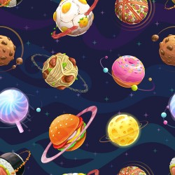 Papier peint Planètes nourrissantes