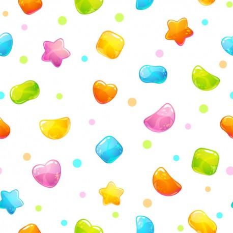 Papier peint Jelly Beans