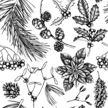 Papier peint Branches d'hiver