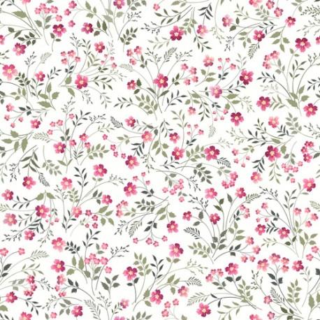 Papier peint Fleurs douces