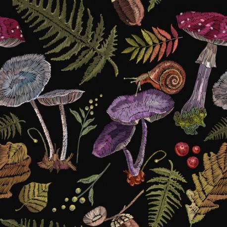 Papier peint Légumes de la forêt