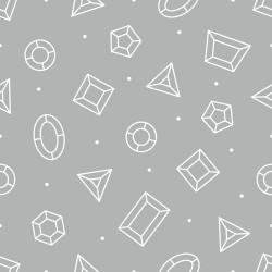 Papier peint Joaillerie géométrique