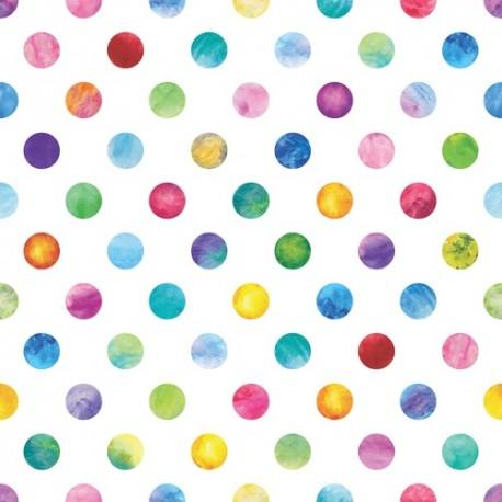 Papier peint Billes pastels