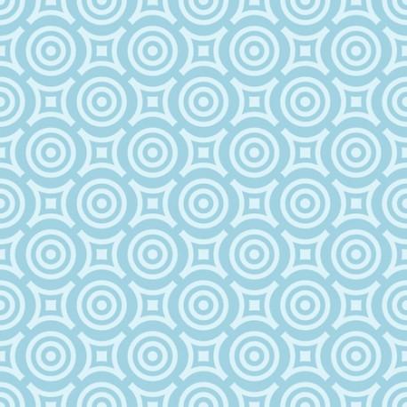 Papier peint Cercles sans bords