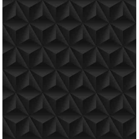 Papier peint Reliefs triangulaires feutrés
