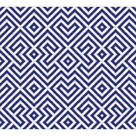 Papier peint Damiers symétriques