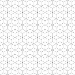 Papier peint Cubes répétitifs