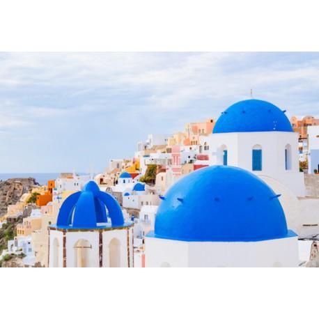 Domes bleus