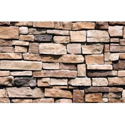 Papier peint Mur de pierres rectangulaires