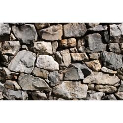 Papier peint Murs de pierres non taillées