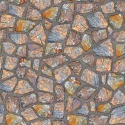 Papier peint Mur de pierres exotiques