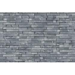 Papier peint Mur de pierres d'ardoises
