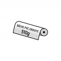 Bache PVC 510gr