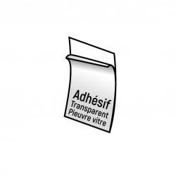 Adhésif Pieuvre transparent spécial vitre