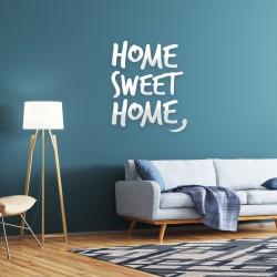Home Sweet Home Blanc