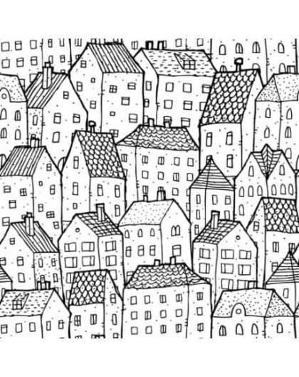 Papier peint Dans la ville